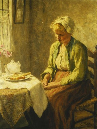 Grace before the Meal, 1927-Evert Pieters-Giclee Print