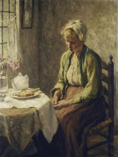 Grace before the Meal-Evert		 Pieters-Giclee Print