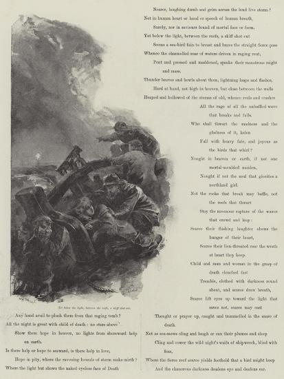 Grace Darling-William Heysham Overend-Giclee Print