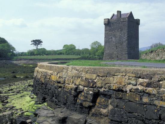 Grace O'Malley Castle, County Mayo, Ireland-William Sutton-Photographic Print