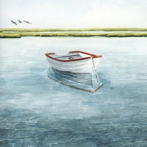 Anchored Bay II by Grace Popp
