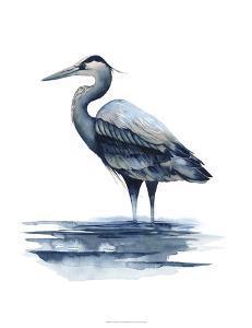 Azure Heron I by Grace Popp
