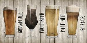 Beer Chart I by Grace Popp