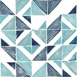 Beryl Block Print III by Grace Popp
