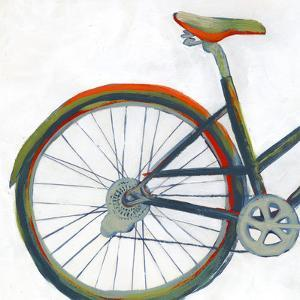 Bicycle Diptych I by Grace Popp