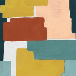 Block Abstract I by Grace Popp