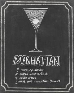 Chalkboard Cocktails II by Grace Popp