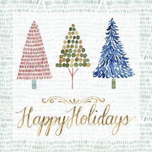 Christmas Tree Whimsy I by Grace Popp