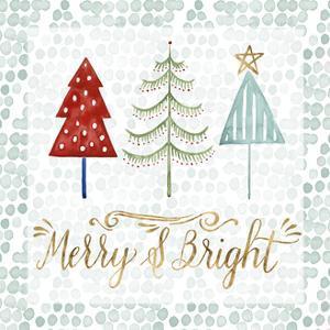 Christmas Tree Whimsy III by Grace Popp
