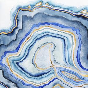 Cobalt Agate I by Grace Popp