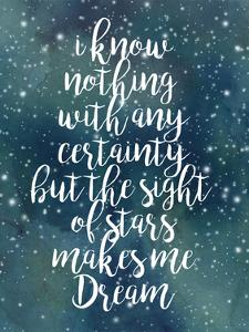 Galaxy Quote II by Grace Popp