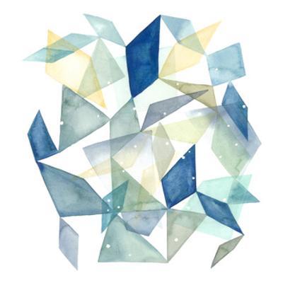 Geometric Jewel Abstract II by Grace Popp