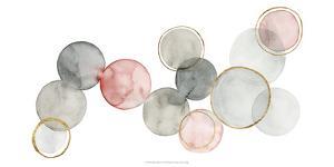 Gilded Spheres I by Grace Popp