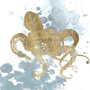 Gilded Splash I by Grace Popp