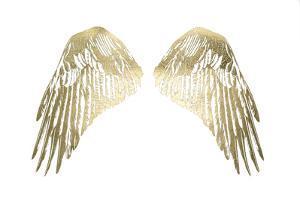 Gold Foil Wings I by Grace Popp