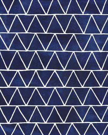 Indigo Pattern IV by Grace Popp