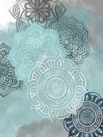 Ink Blot Mandala II by Grace Popp