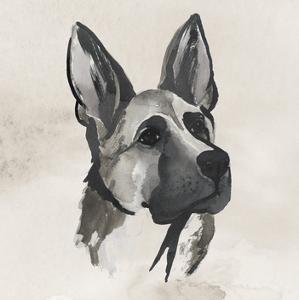 Inked Dogs IV by Grace Popp