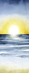 Layered Sunset Triptych II by Grace Popp