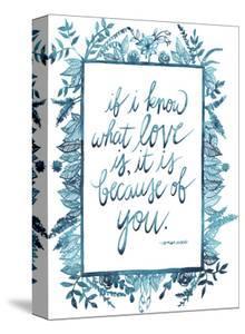 Love Quote II by Grace Popp