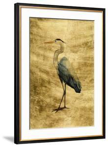 Lustr Seabird Heron I by Grace Popp