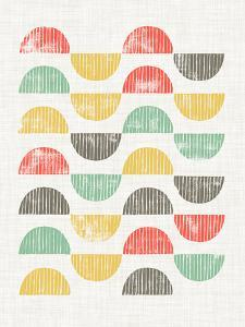 Mod Block Prints I by Grace Popp