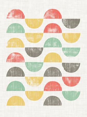 Mod Block Prints I by Grace Popp