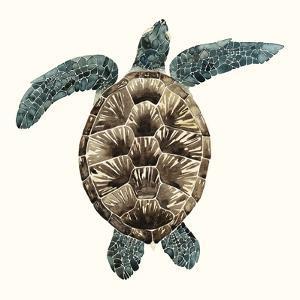 Mosaic Turtle II by Grace Popp