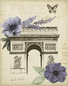 Paris Ephemera I by Grace Popp