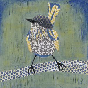 Patchwork Wren I by Grace Popp