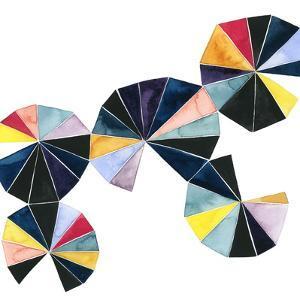 Pinwheel Bright I by Grace Popp