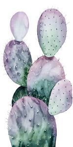 Purple Cactus II by Grace Popp