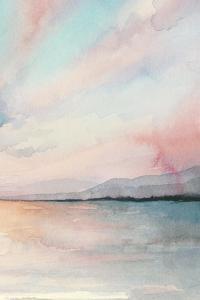 Sea Sunset Triptych III by Grace Popp