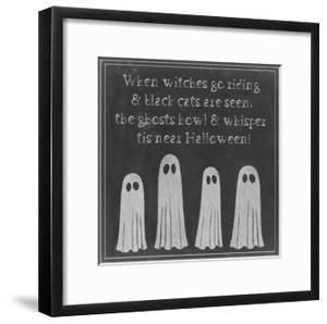 Spooky Chalkboard II by Grace Popp