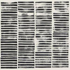 Stripe Block Prints II by Grace Popp