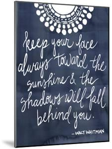 Sun Quote II by Grace Popp