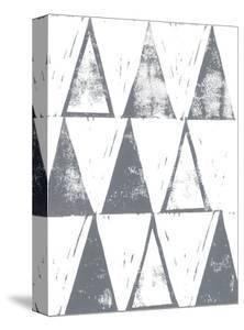 Triangle Block Print I by Grace Popp