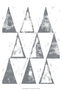 Triangle Block Print II by Grace Popp