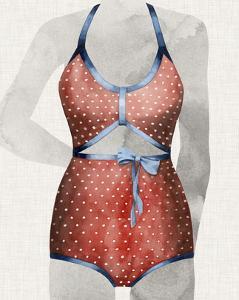 Vintage Bathing Suit II by Grace Popp