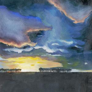 Vivid Sunset II by Grace Popp