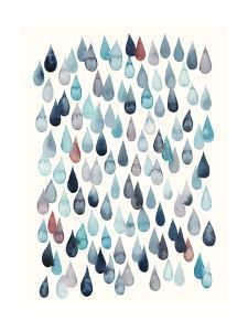 Watercolor Drops II by Grace Popp