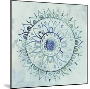 Watercolor Mandala I by Grace Popp
