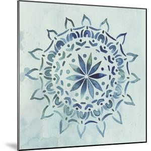 Watercolor Mandala III by Grace Popp