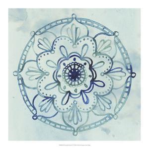 Watercolor Mandala IV by Grace Popp