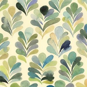 Watercolor Palms II by Grace Popp