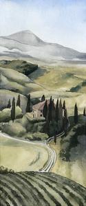 Watercolor Tuscany I by Grace Popp