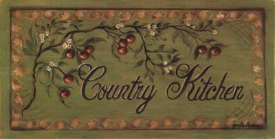 Country Kitchen by Grace Pullen