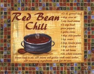 Red Bean Chilli by Grace Pullen