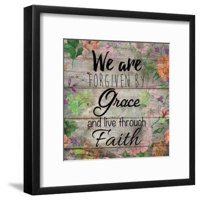 Grace-Victoria Brown-Framed Art Print