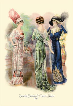 Graceful Evening and Dinner Gowns